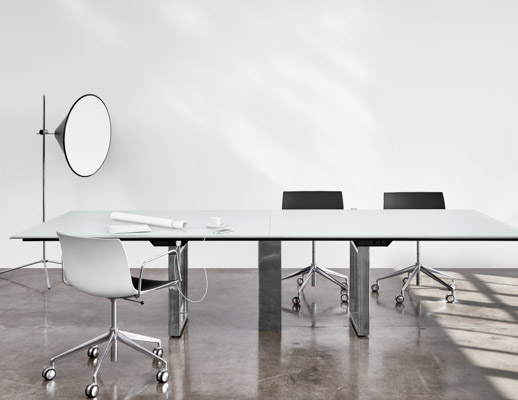 DatesWeiser Highline Conference  Table  with Undermount  Power