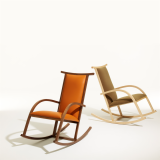 Riart Rocker wood rocking chair