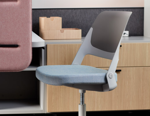 neocon 2018 hospitality at work ollo light task chair
