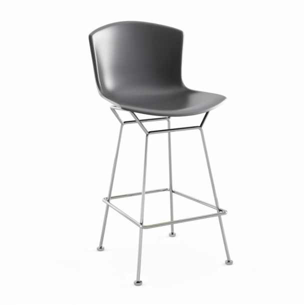 Bertoia Molded Shell Barstool - Counter Height