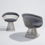Platner Lounge and Side Chair