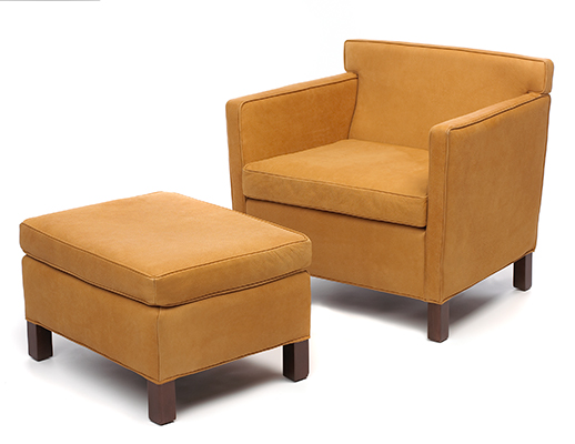Krefeld Lounge Chair and Ottoman