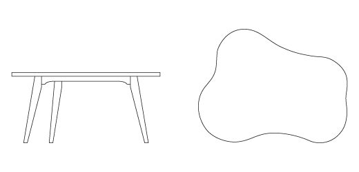 Risom Child S Amoeba Table Knoll