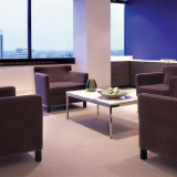 Krefeld Lounge Chair and Florence Knoll Coffee Table Project Profile installation