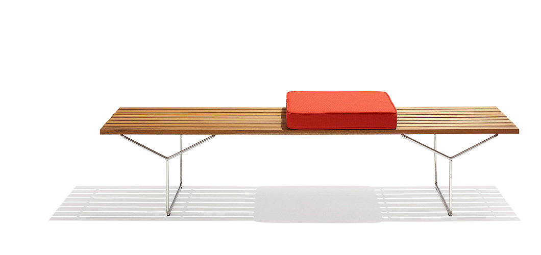 Knoll Bertoia Bench by Harry Bertoia
