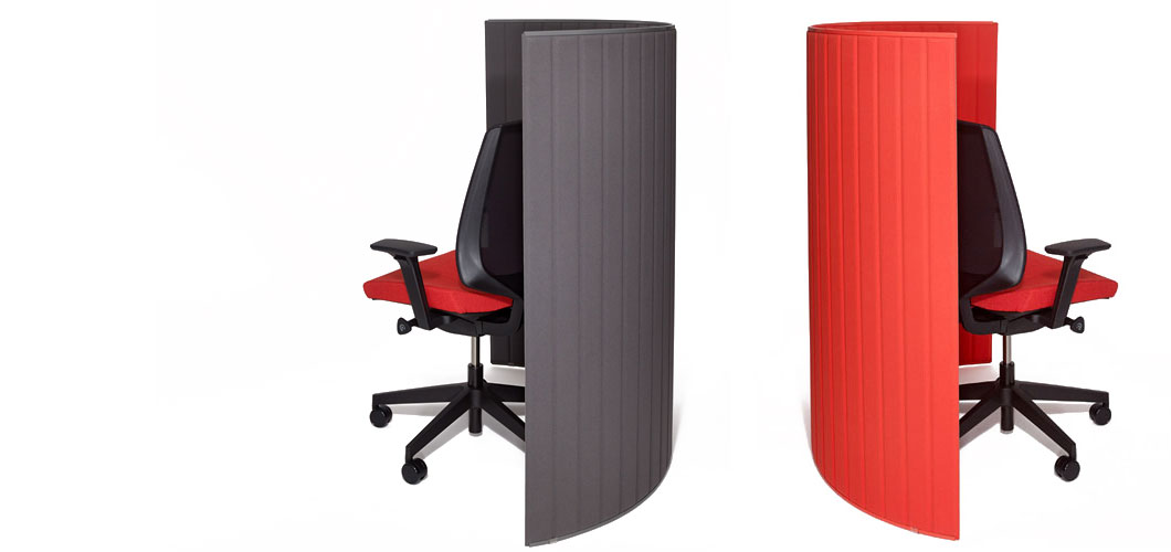 Pop Up Floorstanding Privacy Screen by Knoll
