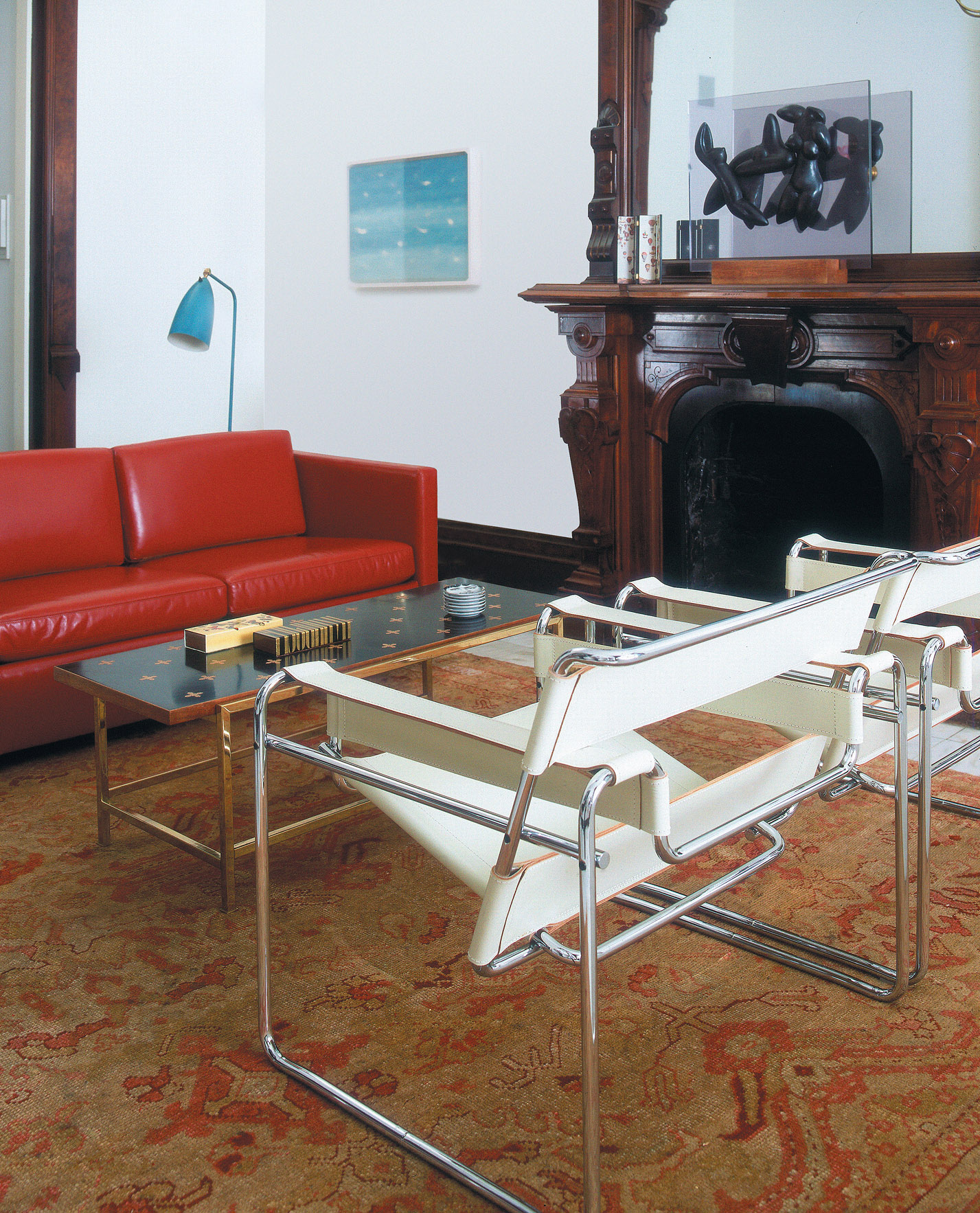 Pfister Settee, Wassily Chair