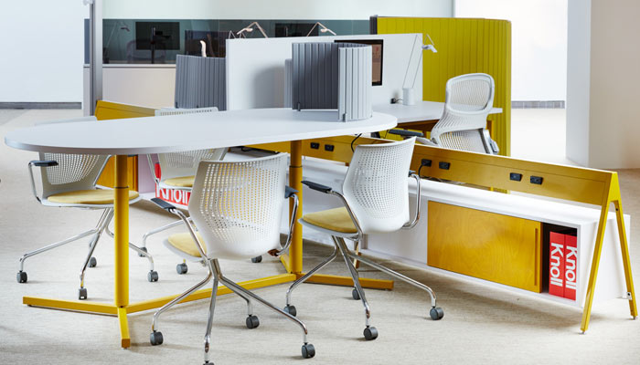 used as either a primary workstation of a flexible meeting table telescope ybase tables integrate seamlessly with the entire antenna workspaces product
