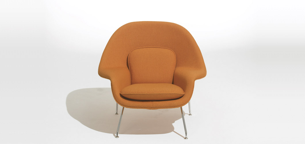 Knoll Saarinen Medium Womb by Eero Saarinen