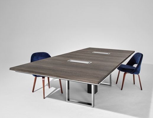 DatesWeiser Highline Conference Table with Table-top Technology