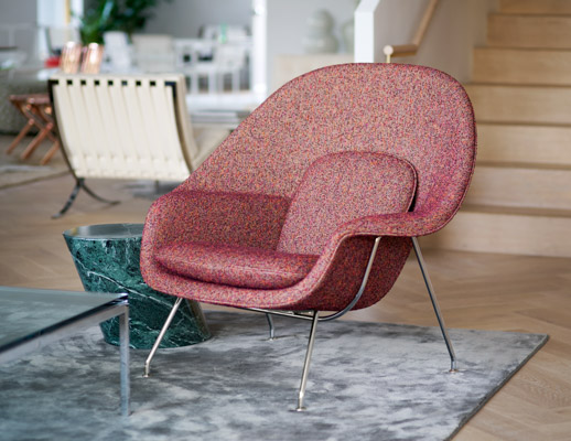 Los Angeles Home Design Shop with Saarinen Womb Chair