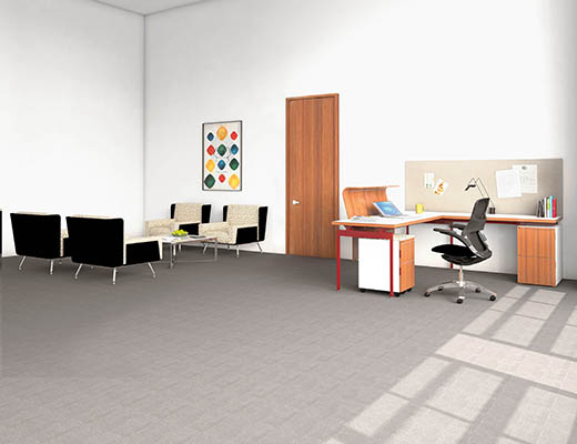 Knoll Antenna Workspaces Linked Desk