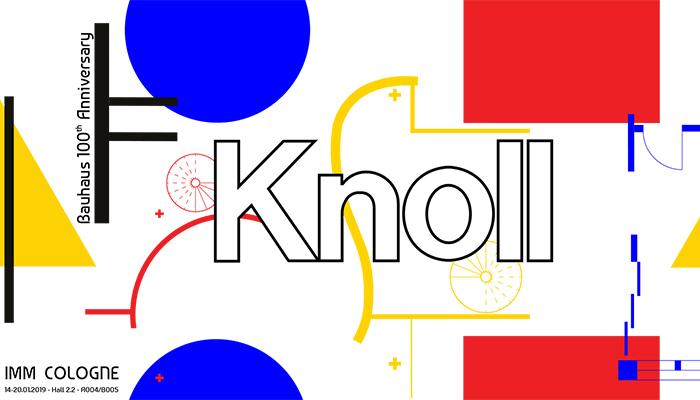 Knoll Pavillion at Cologne Furniture Fair 2019