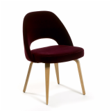 Saarinen Executive Chair with Wood Legs