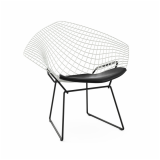 bertoia diamond chair two tone knoll. Black Bedroom Furniture Sets. Home Design Ideas