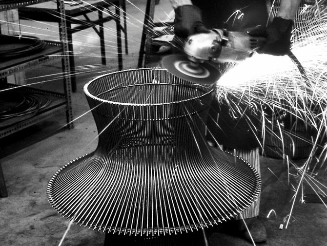 Knoll Warren Platner Coffee Table Archival Image