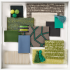 The Bonjour Collection - Green Mood Board