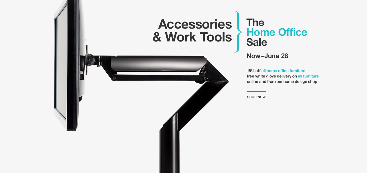 Shop Accessories and Work Tools. The Knoll Home Office Sale. Now–June 28