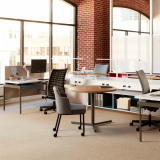 flexible adaptive adjustable focused collaborative workspaces perch saddle power electric