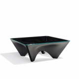 Black Corona Coffee Table by David Adjaye for Knoll