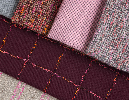 KnollTextiles The Legacy Collection Catwalk Uni-Form Modern Tweed In Stitches Pullman Upholstery Made in the USA July 2017
