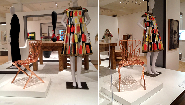 Washington Skeleton Chair For Knoll By David Adjaye On Display At The Risd Museum Features