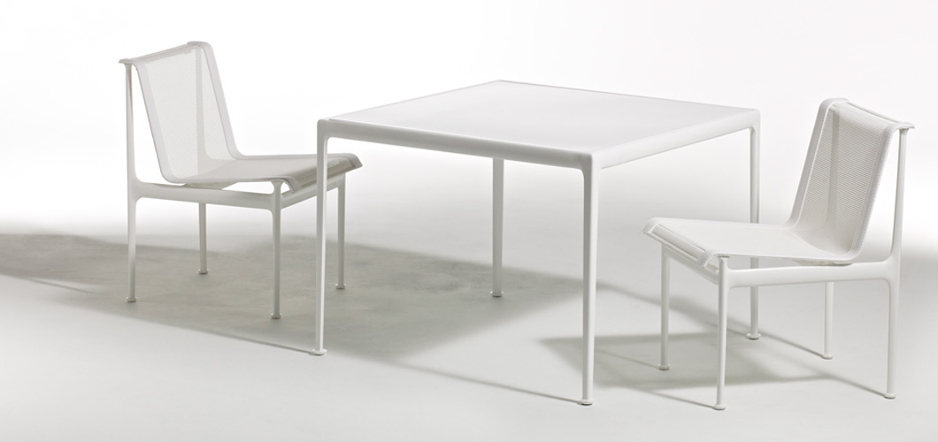 Knoll 66 Collection Square Dining Table by Richard Schultz