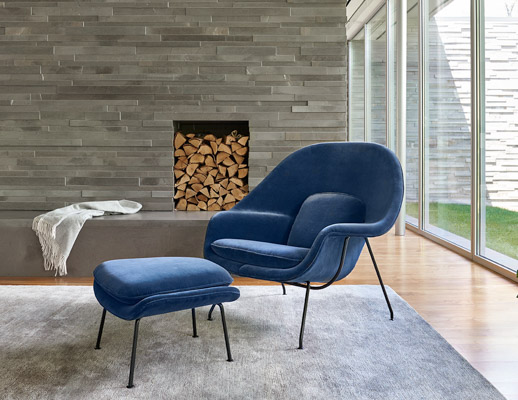 Superieur ... New York Home Design Shop With Saarinen Womb Chair And Ottoman ...