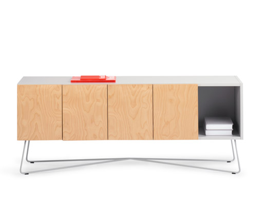 Credenza Console : Rockwell unscripted credenza and console knoll