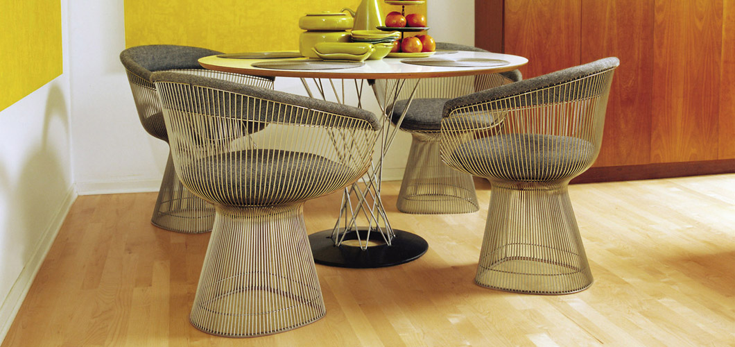 Knoll Platner Arm Chair by Warren Platner