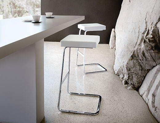 ... Knoll Four Seasons Barstool By Mies Van Der Rohe ...