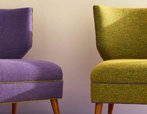KnollTextiles The Well Suited Collection Upholstery Wallcovering Doyenne Chic Bespoke Wall