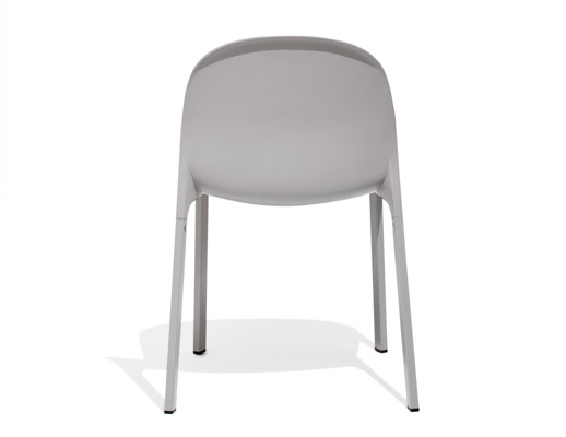 Grey Olivares Aluminum Chair Back