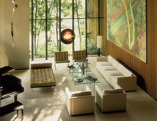 Pfister Sofa and Barcelona Collection