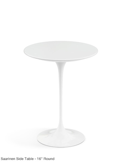 "Saarinen 16"" Side Table"