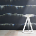atmosphere collection july 2018 trove wallcovering knolltextiles cascade large scale pattern repeat polyester cellulose backing recycled glass piton stool hospitality