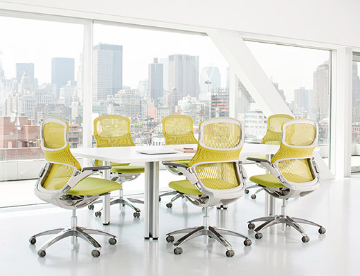 Green Generation by Knoll and Propeller Meeting Table