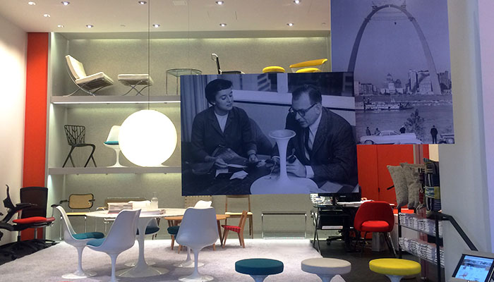 The Knoll Home Design Shop in New York City is Celebrated as One ...