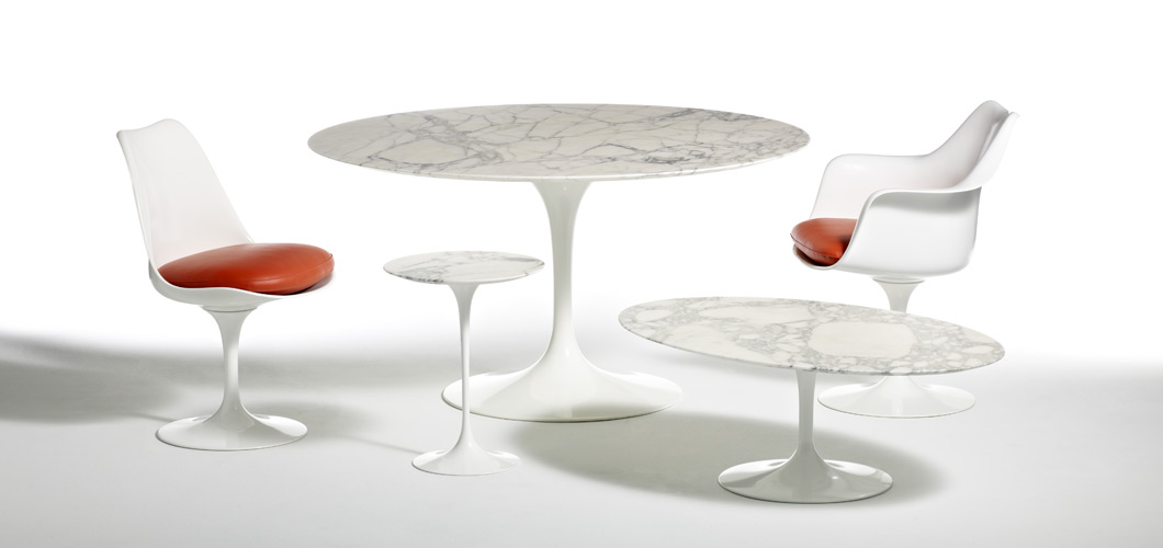 Knoll Saarinen Side Tables by Eero Saarinen