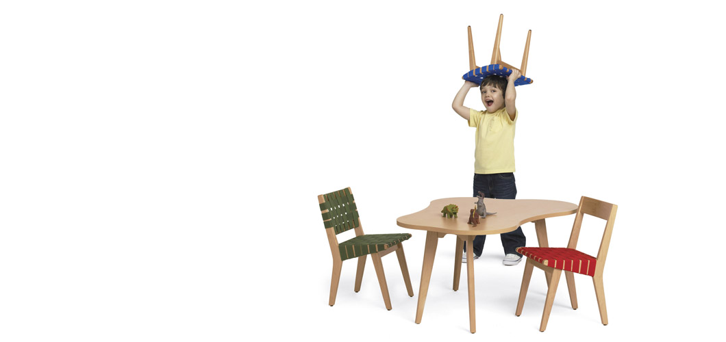 Knoll Risom Childs Side Chair by Jens Risom