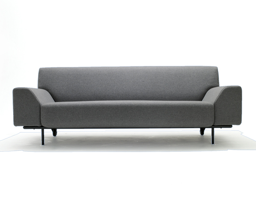 Cini Boerio Lounge Collection Sofa in KnollTextiles Cobble upholstery