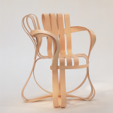 Knoll bentwood Frank Gehry Cross Check Chair