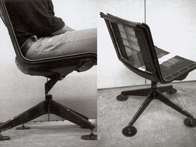 Knoll Richard Sapper Chair Archival Image
