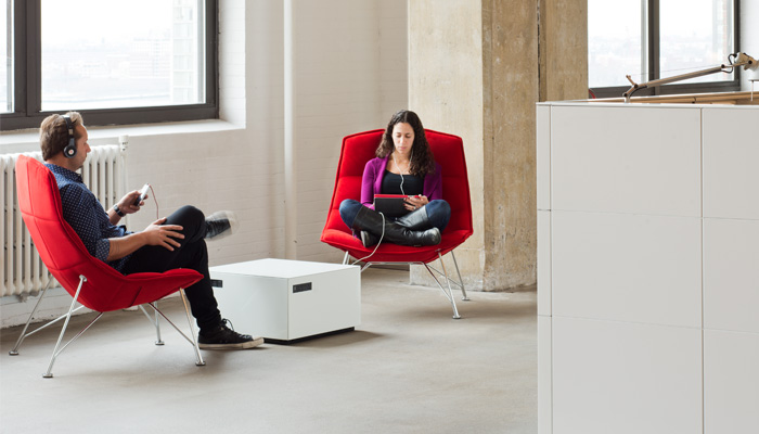 Jehs+Laub Lounge Chair with Power Cube