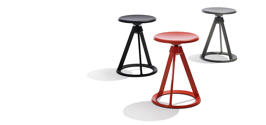 Knoll Stools and Tables by Barber Osgerby