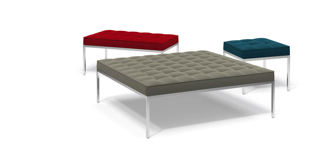 Knoll Relaxed Benches by Florence Knoll