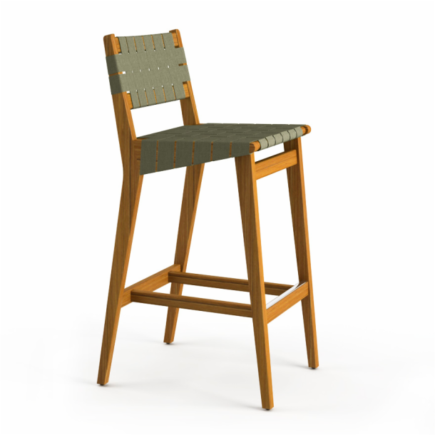Risom Outdoor Barstool