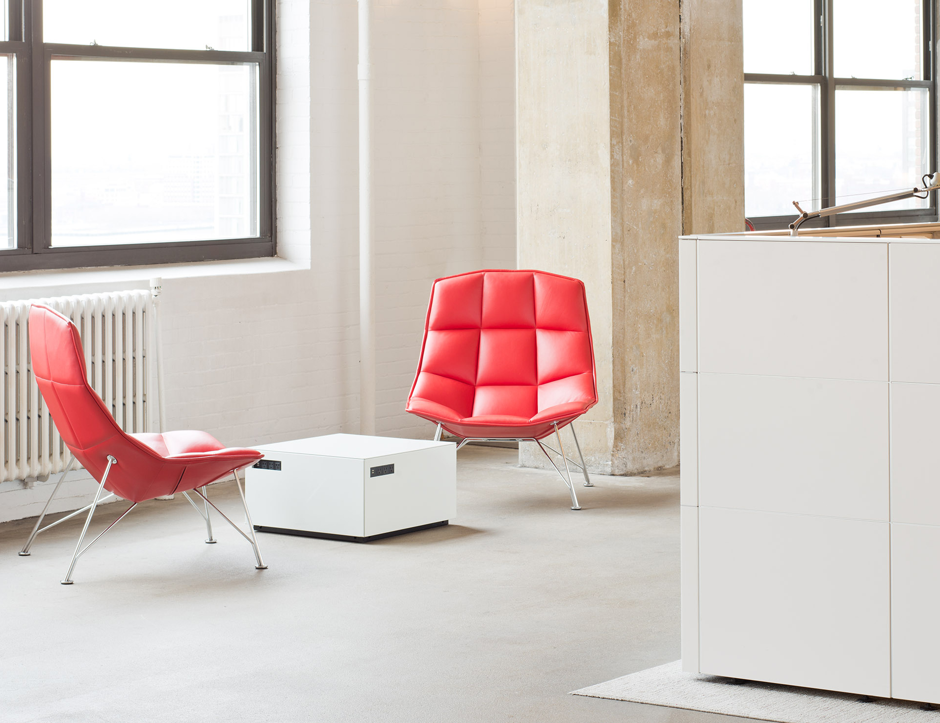 Activity Space Refuge Space Jehs+Laub Lounge Chair and Power Cube