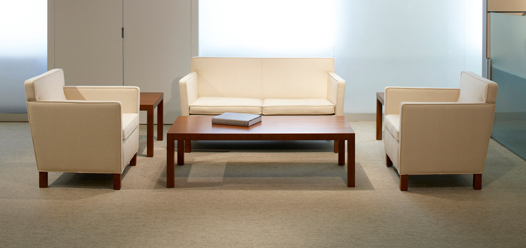 Knoll Mlies Krefeld Coffee Table by Ludwig Mlies van der Rohe