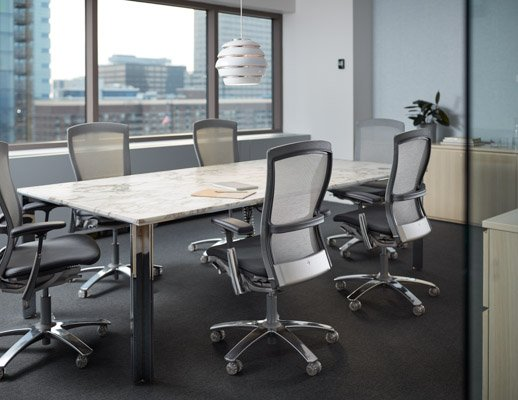 conference room LSM table life chairs